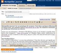Le making off de Montpellier journal