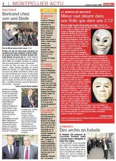 Bertrand Delanoë dans Montpellier plus
