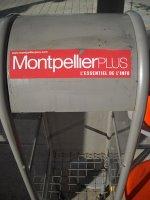Présentoirs Montpellier plus