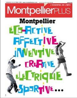 Publicité mairie Montpellier plus
