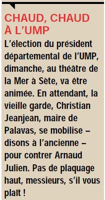 Chrstian Jeanjean et Montpellier plus