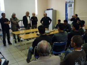Conférence de presse hier à Montpellier organisée par la Cimade et l'Association des Afghans de Montpellier