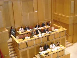 En conseil régional le 25 juin 2006 (photo : Mj)