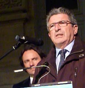 Raymond Couderc (UMP) le 14 décembre 2009 à Montpellier (photo : Mj)