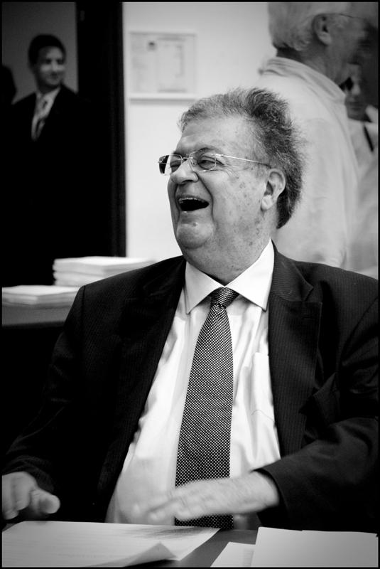 Georges Frêche en conseil municipal de Montpellier le 22 juin 2009 (photo : Xavier Malafosse)