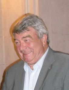 Jean-Claude Gayssot, le 14 janvier 2009 lors de la cérémonie de départ du préfet Schott (photo : Mj)