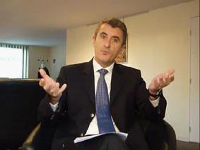 Patrice Latron, secrétaire général de la préfecture de l'Hérault le 8 décembre 2009 (photo : Mj)