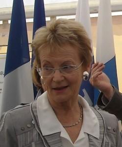 Hélène Mandroux le 17 avril 2009 (photo : Mj)