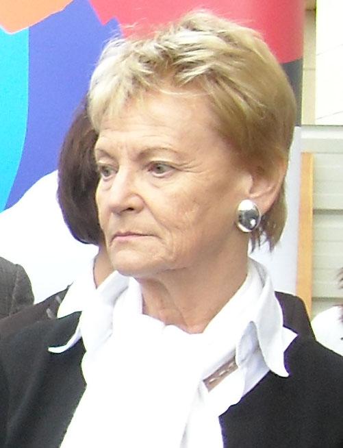 Hélène Mandroux, maire de Montpellier le 16 avril 2009 (photo : Mj)
