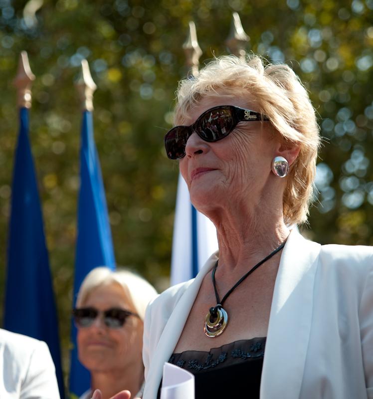 Hélène Mandroux lors de l'inauguration de l'Antigone des assos (photo : Nicolas Harter)