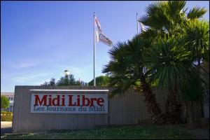 Le siège du groupe Midi Libre (photo : Xavier Malafosse)