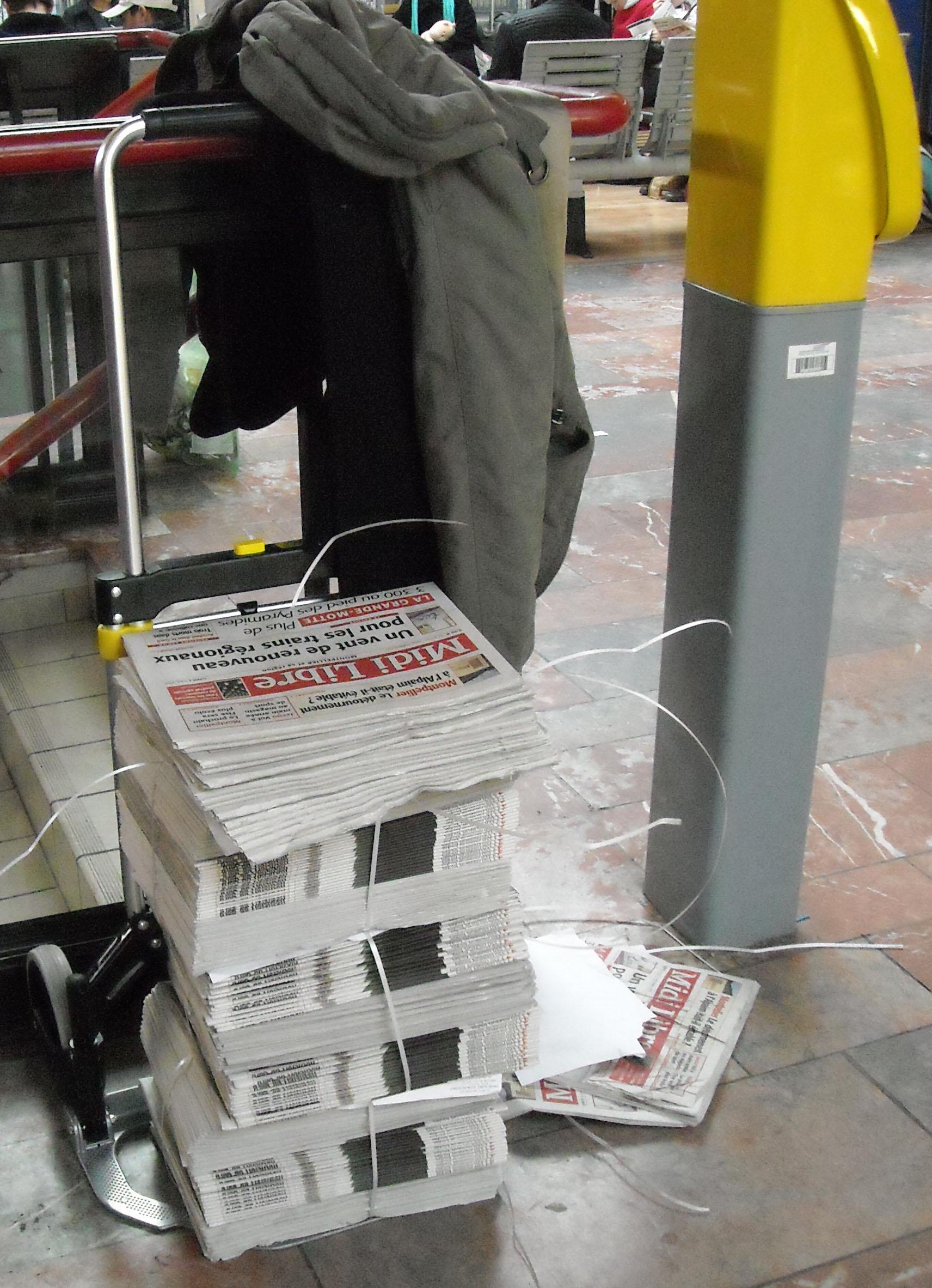 Midi libre confond quotidien r gional et journal de la r gion m - Journal de montpellier ...
