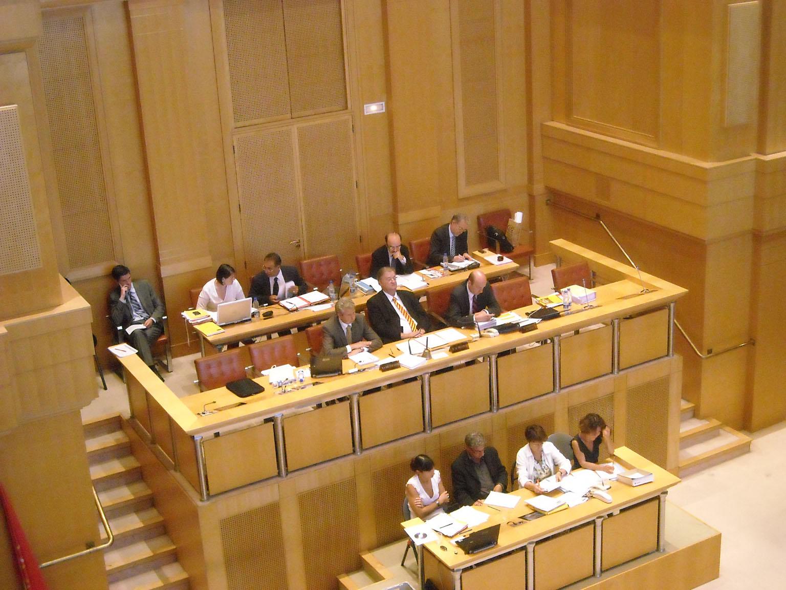 En conseil régional du 25 juin (photo : Mj)