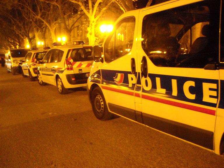 Sur l'esplanade de Montpellier vendredi 28 août 2009 (photo : Mj)
