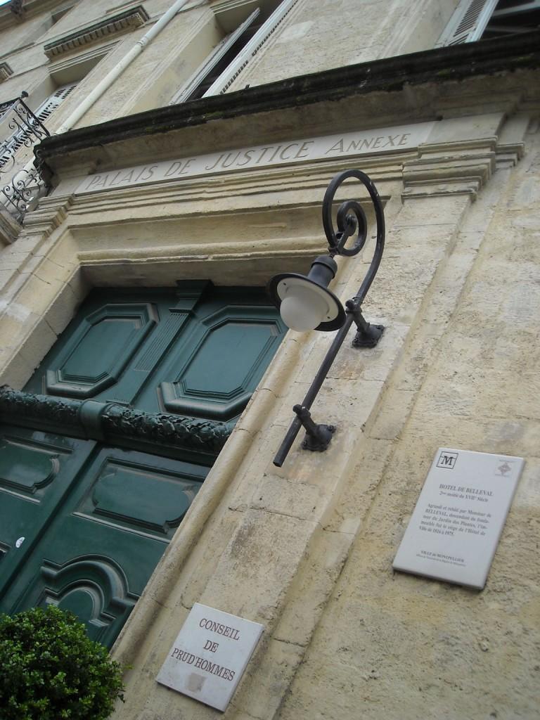 Le conseil des prud'hommes de Montpellier (photo : Mj)