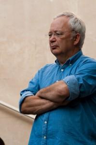 Pierre Serre, patron de La Gazette à Montpellier à la fête de la fraternité le 19 septembre 2009 (photo : Xavier Malafosse)