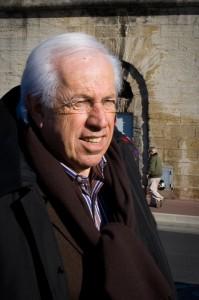 André Vezinet, président du conseil général de l'Hérault, le 29 janvier (photo : Xavier Malafosse)