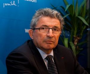 Raymond Couderc, sénateur-maire de Béziers, le 14 décembre 2009 à Montpellier (photo : Xavier Malafosse)