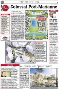 Un article qui a plu à Georges Frêche dans Midi Libre du 21 décembre 2009