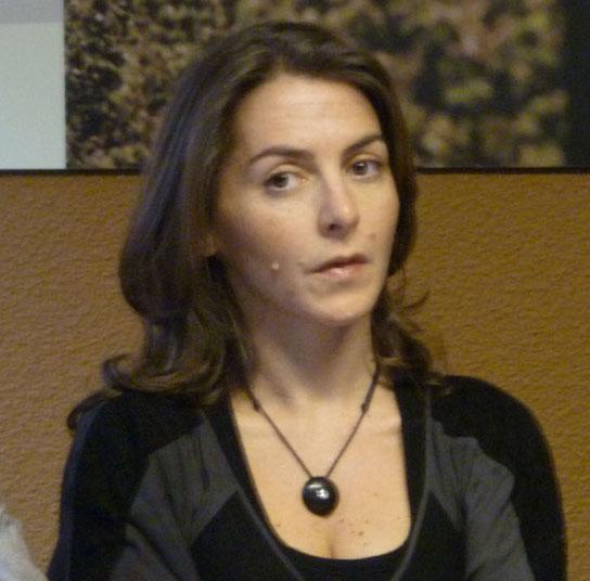 Agnès Jullian le 2 février 2010 à Montpellier (photo : Mj)