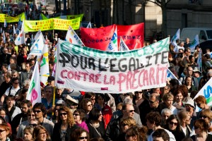 Manifestation le 23 mars 2010  Montpellier (photo : Xavier Malafosse)