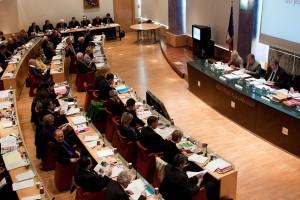 Conseil d'agglomération de Montpellier le 1er avril 2010 (photo : Mj)