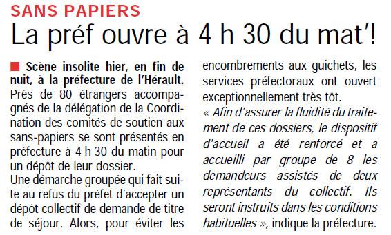 Dans Direct Montpellier plus du 19 mai 2010