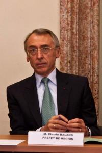Claude Baland, préfet de l'Hérault, chef de la policie et des services de la préfecture (photo : Mj)