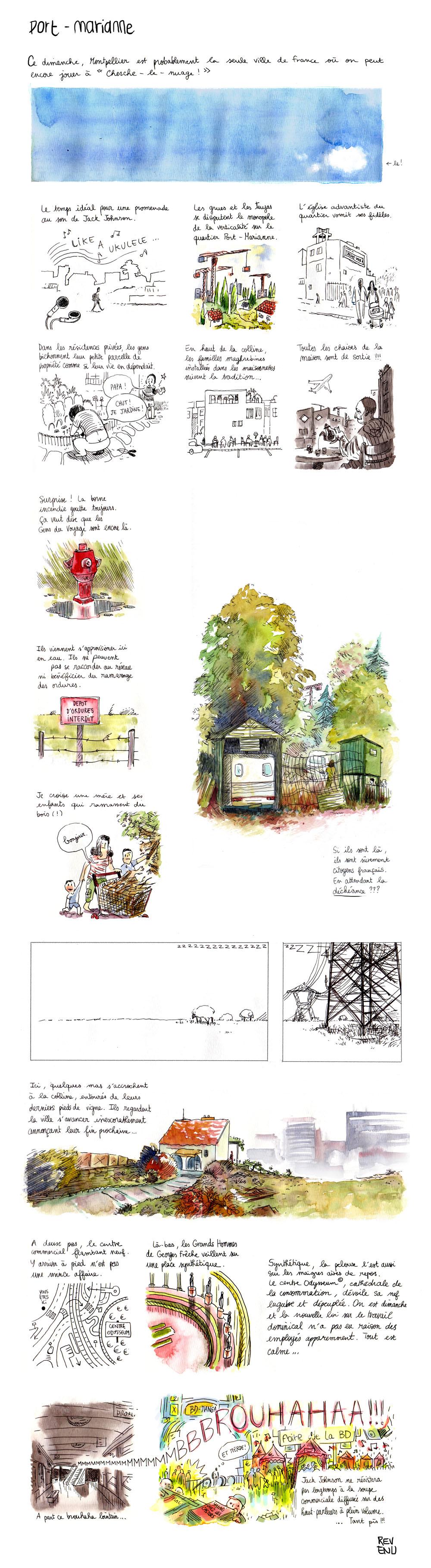 La balade de julien revenu dans le quartier port marianne de montpellier mo - Journal de montpellier ...