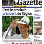 La Une de La Gazette de Montpellier du 4 novembre 2010