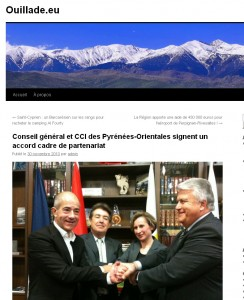 Sur le site Ouillade.eu
