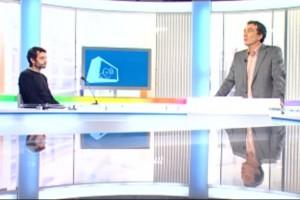 """Montpellier journal à """"La voix est libre"""" sur France 3 le 22 janvier 2011 (photo : copie d'écran du site de France 3)"""