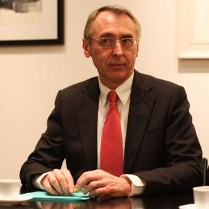 Claude Baland, préfet du Languedoc-Roussillon le 6 janvier 2011 à Montpellier (photo : J.-O. T.)