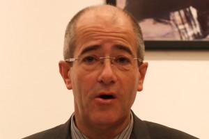 Christian Bourquin, président de la région Languedoc-Roussillon, le 6 janvier 2011 à Montpellier (photo : J.-O. T.)