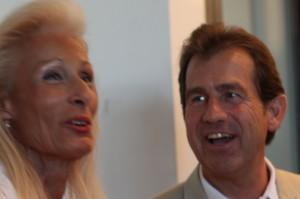 Gabrielle Deloncle et André Deljarry le 28 septembre 2011 à Montpellier (photo : J.-O. T.)