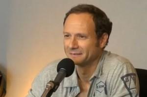Frédéric Lordon dans l'émission Là bas si j'y suis sur France Inter (photo : copie d'écran de la vidéo)