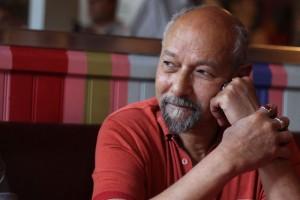 Talaat El Singaby le 5 septembre 2011 lors de la conférence de presse de soutien à François Hollande (photo: J.-O. T.)