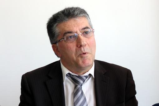 Robert Navarro le 13 octobre 2010 à Montpellier (photo : J.-O. T.)