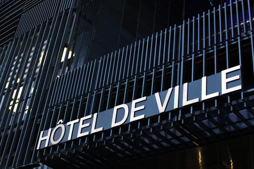 Le nouvel hôtel de ville de Montpellier (photo : J.-O. T.)