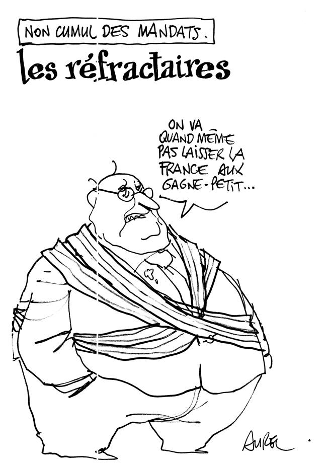 Dessin d'Aurel publié sur le site de Politis le 20 septembre 2012