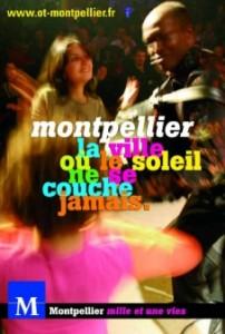 Campagne de publicité de la mairie de Montpellier sur les nuits montpelliéraines, mai 2006 (montage : Gumguts)