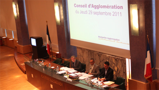 Conseil d'agglomération du 29 septembre 2012 (photo : J.-O. T.)