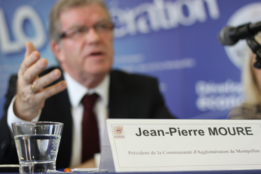 Jean-Pierre Moure le 26 novembre 2012 (photo : J.-O. T.)