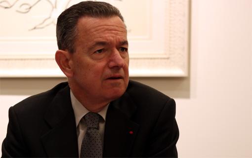 Christian Philip, le recteur de l'académie de Montpellier le 6 janvier 2011 (photo : J.-O. T.)