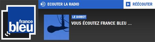 Copie d'écran du site francebleu.fr