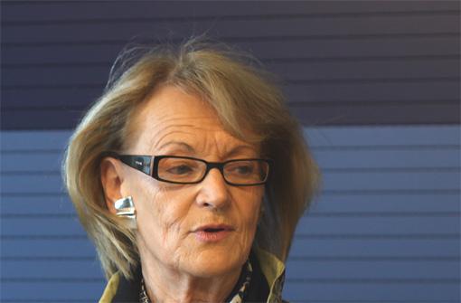 Hélène Mandroux, maire de Montpellier, le 23 décembre 2011 (photo : J.-O. T.)
