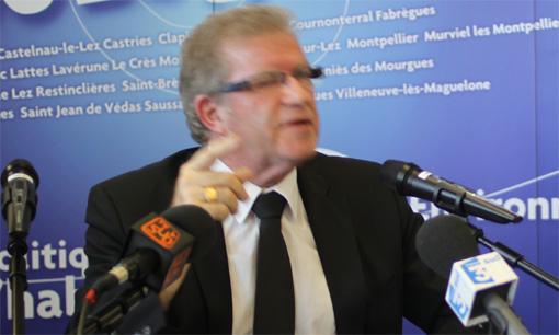 Jean-Pierre Moure le 13 novembre 2012 (photo : J.-O. T.)