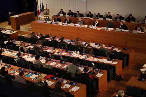 Conseil municipal de Montpellier le 4 février 2013 (photo : J.-O. T.)
