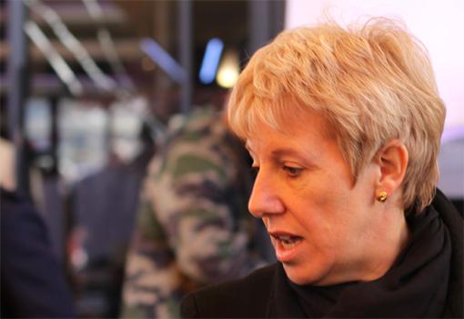 Sophie Salelles, directrice de cabinet de Jean-Pierre Moure à l'agglomération de Montpellier (photo : J.-O. T.)