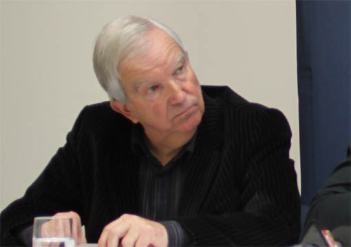 Robert Molines, ancien prsident du MAHB, le 2 fvrier 2013 (photo : J.-O. T.)